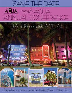 2016 ACUA Annual Conference