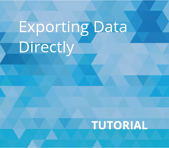 Exporting Data Directly