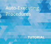 Auto-Executing Procedures