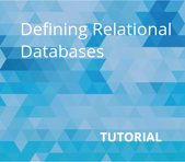 Defining Relational Databases