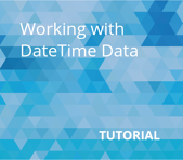 Working with DateTime Data